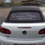 Belettering Hilde Freson